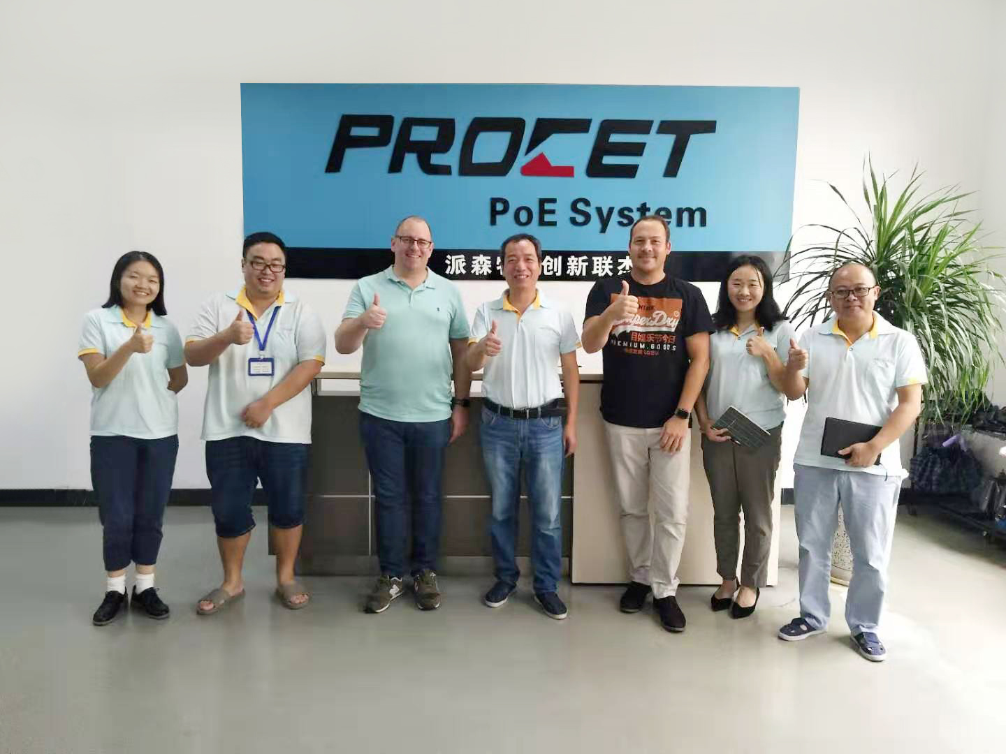 Danish clients Visited Our Factory on Oct. 09 2019