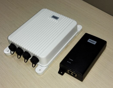 Outdoor PoE switch and high power PoE injector outlet Germany