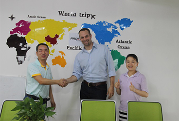 USA Customer visited our Company for the second time