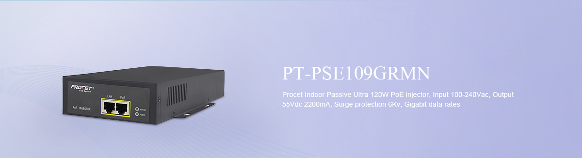 Indoor POE Injector PT-PSE109GRMN