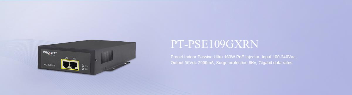 160w PoE Injector PT-PSE109GXRN